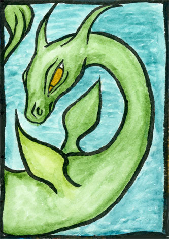 Sea Friend | copyright Dragon Messmer 2007, skullyflower.com