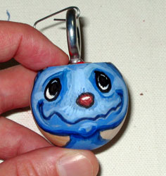 annie2 Ornament | copyright Dragon Messmer 2007, skullyflower.com