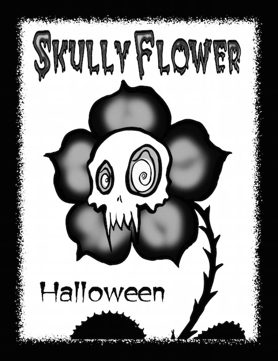 Skullyflower Halloween