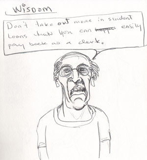 Wisdom | copyright Dragon Messmer 2005, skullyflower.com