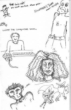 Pen  Comparison | copyright Dragon Messmer 2005, skullyflower.com